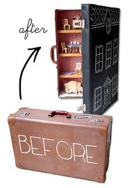 before after old suitcase to dollhouse mypoppet com au