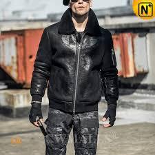 black friday 2018 cwmalls minneapolis custom men distressed shearling jacket cw808335