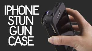 iphone taser. yellow jacket iphone 4/4s stun gun case - protect yourself and your phone youtube iphone taser