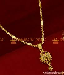smdr162 gold plated pendant chain stunning gift design marriage couple loving double dollar imitation jewellery 150 1 1 850x1000 jpg