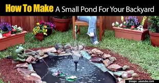 fit anywhere good looking backyard pond
