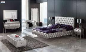 Silver Bedroom Furniture Sets Black And Silver Bedroom Set