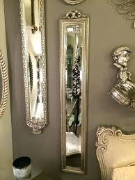 tall narrow mirror mirrored bathroom cabinet