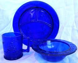 cobalt blue glass dinnerware sets full size of cobalt blue glass dinner set dishes depression dinnerware