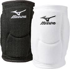 Mizuno Elite 9 Sl2 Volleyball Knee Pads In Black And White