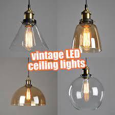 retro pendant lights hanging industrial