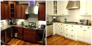 how to paint oak kitchen cabinets painting gray