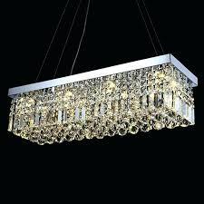 rectangular crystal chandelier rectangular crystal raindrop chandelier dining room with warm light rectangular crystal chandelier home