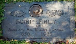 """Frances """"Fannie"""" Daniel Finley (1856-1935) - Find A Grave Memorial"""
