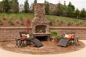 outside stone fireplace southnextus