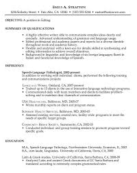 Ex Of Resumes Resume Examples Job Resume Examples Chronological Sample Resume For