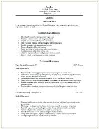 Pharmacy Internship Resumes Pharmacy Student Resume Pharmacy Intern Resumes Free Resume Images