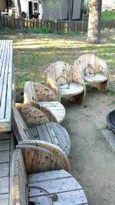wooden spool chair wooden spool chair plans