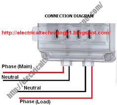 how to wire single phase kwh meter? electrical technology Three Phase Meter Wiring Diagram how to wire single phase kwh meter (3 phase,4 wire energy meter three phase meter 480v wiring diagrams