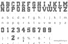 collage fonts free digital college font