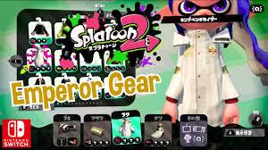 Nintendo Splatoon 2 Emperor Gear ...