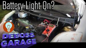 Charging Battery Light Car Battery Light On In Dashboard Toyota Yaris