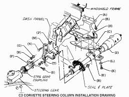 1969 thru 1982 c3 corvette tilt and telescoping steering column disassembly repair instructions paper 2 disassembly and r