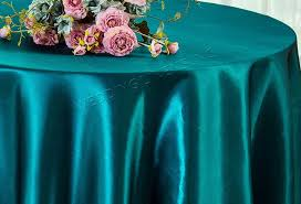 108 seamless satin round tablecloths 56 colors