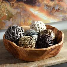 Decorative Bowls With Balls Extraordinary Decorative Bowls And Balls Vase Fillers For Bowl Ideas