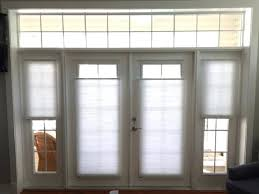 window treatments for doors with half glass french and skylights made in the shade inside idea