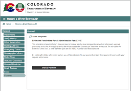 how to renew your colorado drivers
