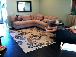 placement of area rug in living room living room ideas area rugs living room and after