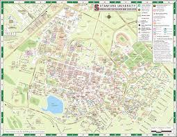 stanford university map  stanford university palo alto ca • mappery