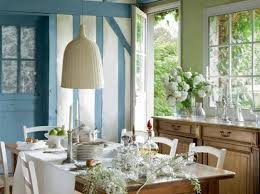 french country decor home. Light Blue Color And Wooden French Country Home Furniture For Dining Room Decorating Decor