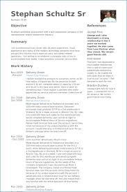 Driver Resume Examples Kantosanpo Com
