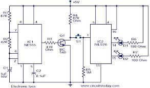 electronic toss circuit electronic circuits and diagram electronic circuit diagram symbols at Electronic Circuit Diagrams