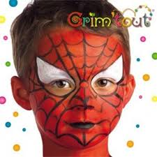 spiderman face painting instructions craft for kids spiderman makeup for