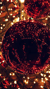 christmas wallpaper iphone 6. Christmas Light Balls Holiday Life City Iphone Plus Wallpaper With