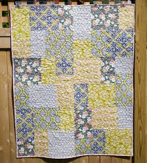 Sew Some Sunshine: Quick and Easy Baby Quilt & I have this thing with making something quick, easy, fun and with fabrics I  love. I'm also happy that I'm practicing my FMQ skills on these low  pressure ... Adamdwight.com