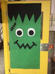 Frankenstein door #cute