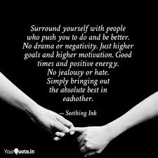 Surround Yourself With Quotes Writings By खलत