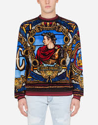 Sweatshirts for Men | Dolce&Gabbana - <b>Dolce</b> & <b>Gabbana</b>