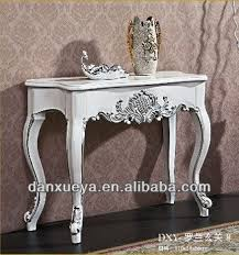 Antique sofa table for sale Tenpojin Danxueyafrench Style Baroque Antique White Console Tablewhite Oak Solid Wood Console Table People Danxueyafrench Style Baroque Antique White Console Tablewhite Oak