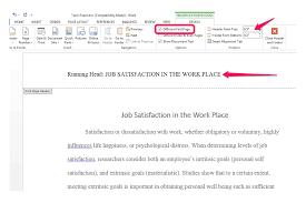 Running Head Apa Research Paper