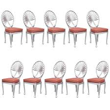 art deco furniture miami. Steel Art Deco Palm Leaf Dining Chair @flea_pop Furniture Miami