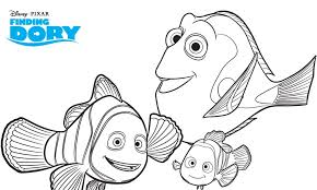 Dory Coloring Pages Free Finding Dory Printable Coloring Pages Mama