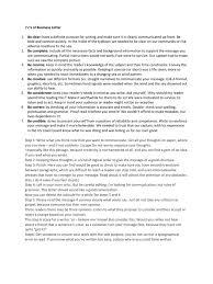 7 C S Of Business Letter Psychological Concepts Psychology