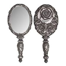 hand mirror.  Hand Alchemy Gothic Baroque Rose Hand Mirror Home Decor Witch Vampire U2013  Dysfunctional Doll To