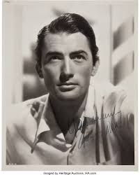 Gregory Peck Signed Photo.... Movie/TV Memorabilia Autographs and | Lot  #46775