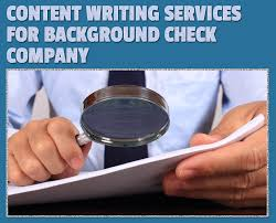 content writing services for background check company content writing service for background check company