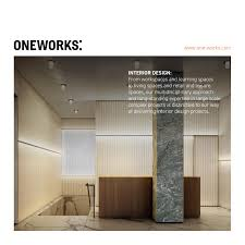 Onework Design One Works On Interior Design By One Works Issuu