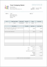 Example Of A Invoice example of an invoice Cityesporaco 1