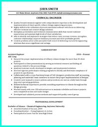 impressive resume example impressive chemical engineer cv pdf professional resume template