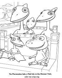 Small Picture Dinosaur Train Coloring Pages GetColoringPagescom