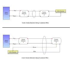 troubleshooting smoke alarm wiring at the detectors wiring smoke detectors new construction 2 wire smoke detectors